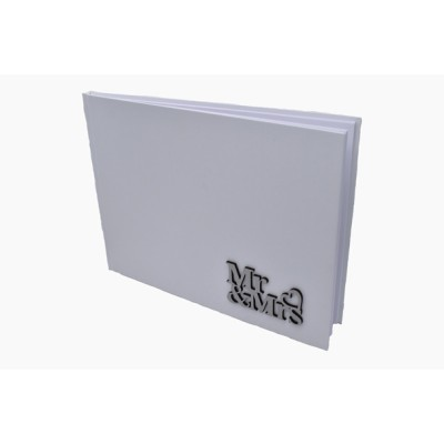 Wedding Wish Book (White)