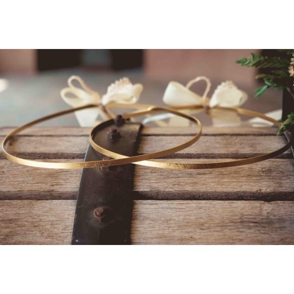 Wedding wreaths gilded