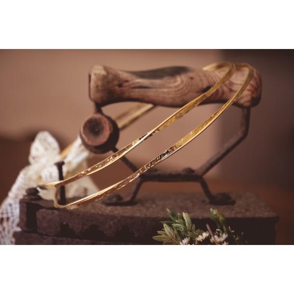 Wedding wreaths gilded forged