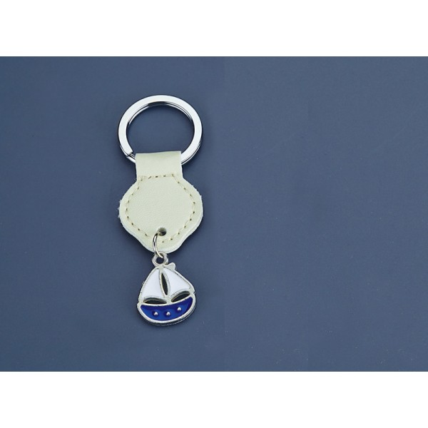 LEATHER LEATHER KEYCHAIN NU1375