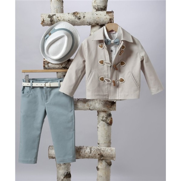 2501-1 Turtleneck, cotton shirt and jacket turtleneck