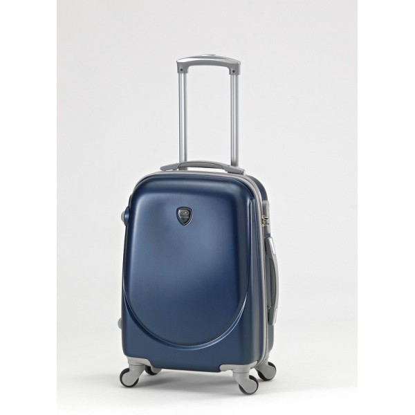 ABS TROLEY Suitcase with Legs & Handle 20 ″ Blue