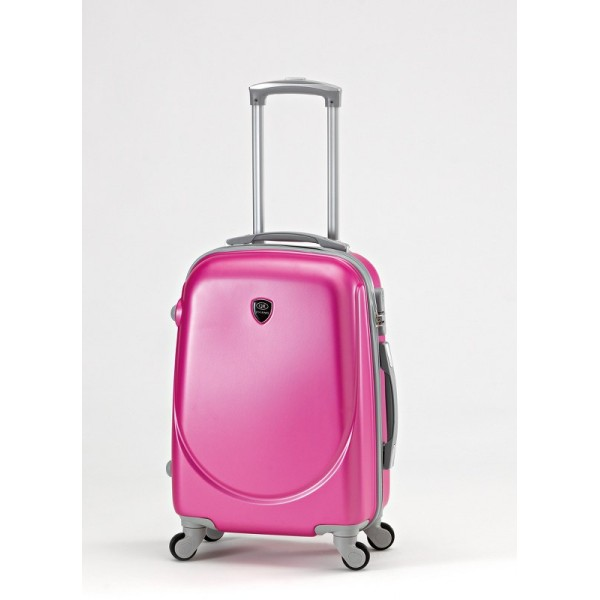 ABS TROLEY Suitcase with Legs & Handle 20 ″ Pink