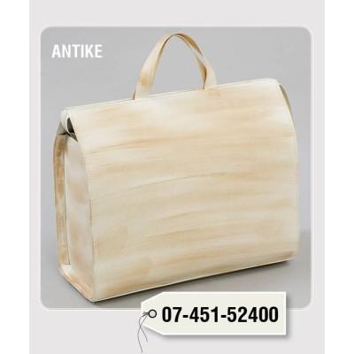 ANTIQUE LEATHER ZIPPER BAG